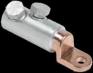 Медно-алюминиевый механический наконечник со срывными болтами АММН 240-300 до 1кВ IEK
