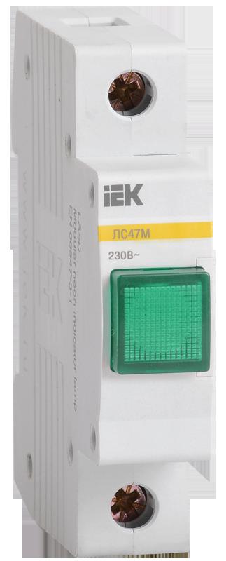 Сигнальная лампа ЛС-47М (зеленая) (матрица) IEK