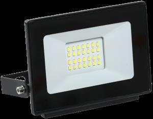 Прожектор светодиодный СДО 06-20 IP65 6500K черный IEK
