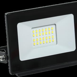 Прожектор светодиодный СДО 06-20 IP65 4000K черный IEK