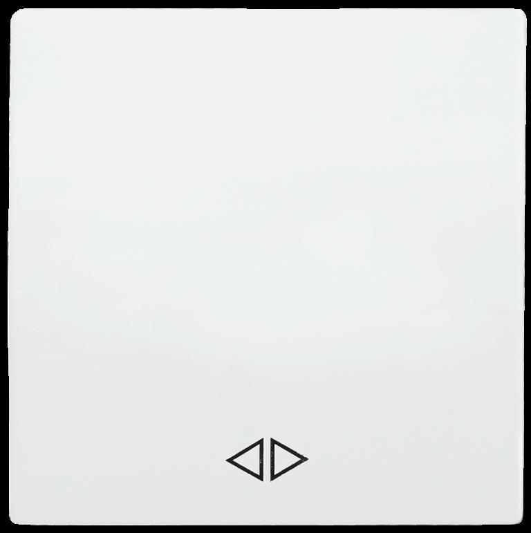 Накладка 1 клавиша для выключателя перекрестного HB-1-3-ББ BOLERO белый IEK
