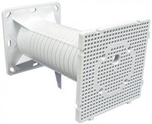 Электроустановочная коробка для фасадов МПФ 120х120х200мм IEK