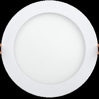 Светильник светодиодный ДВО 1608 круг 18Вт 6500K IP20 белый IEK