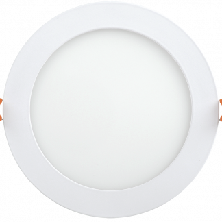 Светильник светодиодный ДВО 1606 круг 12Вт 6500K IP20 белый IEK