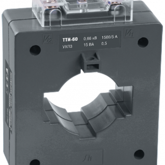 Трансформатор тока ТТИ-60 750/5А 10ВА класс 0,5 IEK