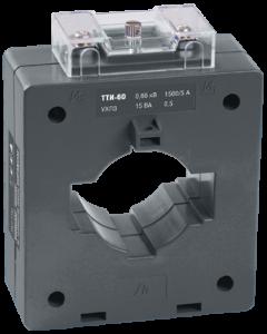 Трансформатор тока ТТИ-60 1000/5А 10ВА класс 0,5 IEK
