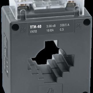 Трансформатор тока ТТИ-40 400/5А 5ВА класс 0,5 IEK