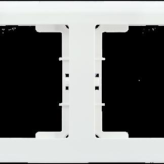 Рамка 4-местная горизонтальная РГ-4-ББ BOLERO белый IEK