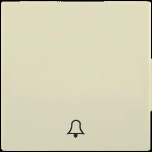 Накладка 1 клавиша для кнопочного звонка HB-1-4-БК BOLERO кремовый IEK