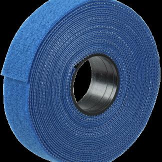 Хомут-липучка ХКл 20мм синий (5м/ролл) IEK