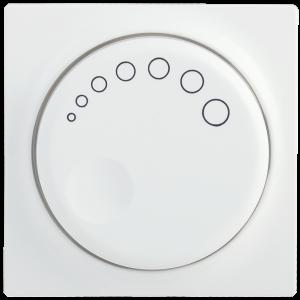 Накладка к светорегулятору НС-1-1-ББ BOLERO белый IEK