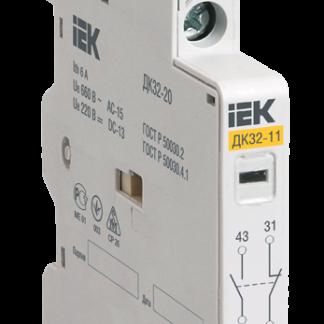 Дополнительный контакт поперечный ДКП32-20 IEK