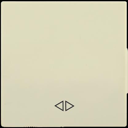 Накладка 1 клавиша для выключателя перекрестного HB-1-3-БК BOLERO кремовый IEK