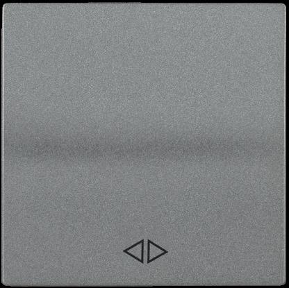 Накладка 1 клавиша для выключателя перекрестного HB-1-3-БА BOLERO антрацит IEK