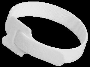Хомут-липучка ХКл 14х310мм белый (100шт) IEK