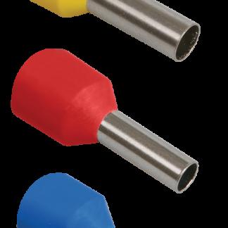 Наконечник-гильза Е1012 1мм2 (темно-красный) (20шт) IEK