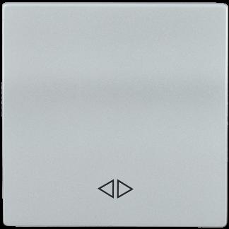 Накладка 1 клавиша для выключателя перекрестного HB-1-3-БС BOLERO серебряный IEK