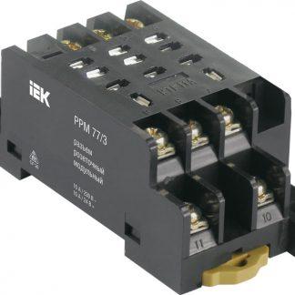 Разъем розеточный модульный РРМ77/4(PTF14A) для РЭК77/4(LY4) IEK