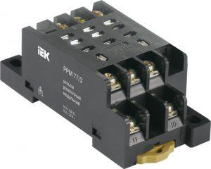 Разъем розеточный модульный РРМ77/3(PTF11A) для РЭК77/3(LY3) IEK