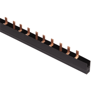 Шина соединительная типа PIN (штырь) 3Р 100А шаг 27мм (длина 1м) IEK