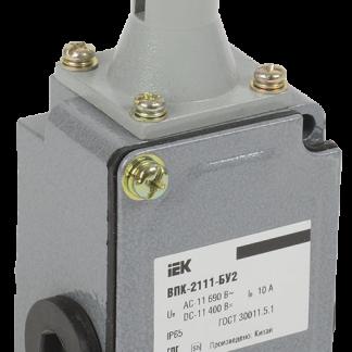 Выключатель концевой ВПК-2111-БУ2 толкатель с роликом IP65 IEK