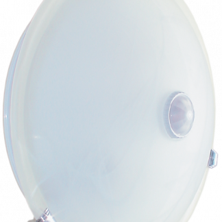 Светильник НПО3231Д 2х25 с датчиком движения белый IEK
