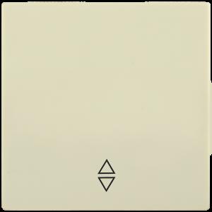 Накладка 1 клавиша для выключателя проходного HB-1-2-БК BOLERO кремовый IEK