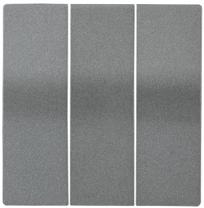 Накладка 3 клавиши HB-3-0-БА BOLERO антрацит IEK