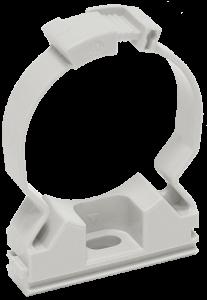 Хомутный держатель CFC16 серый IEK
