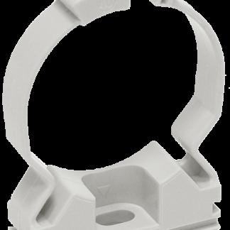Хомутный держатель CFC20 серый IEK