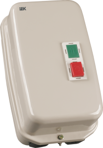 Контактор КМИ49562 95А в оболочке 380В/АС3 IP54 IEK