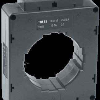 Трансформатор тока ТТИ-85 750/5А 15ВА класс 0,5 IEK