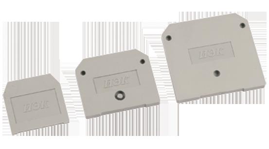 Заглушка для ЗНИ-16мм2 (JXB100A) серая IEK