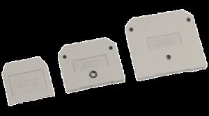 Заглушка для ЗНИ-35мм2 (JXB125A) серая IEK