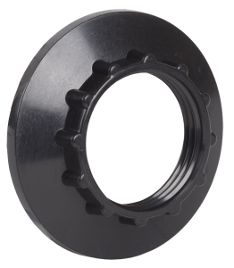 Кольцо к патрону Е14 пластик черный (индивидуальный пакет) IEK