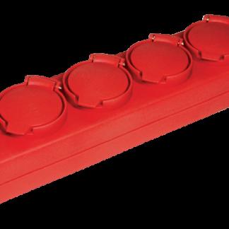 Удлинитель У05В 5 мест с защитными крышками IP44 2Р+PE/5м 3х1мм2 16А/250В IEK