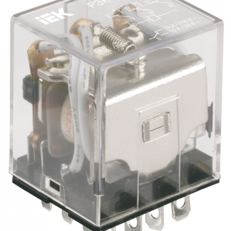 Реле промежуточное РЭК77/4(LY4) с индикацией 10А 24В DC IEK