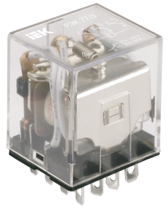 Реле промежуточное РЭК78/3(MY3) с индикацией 5А 12В DC IEK