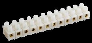Зажим контактный винтовой ЗВИ-10 н/г 2,5-6мм2 12пар IEK